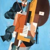 Iwan Puni, Synthetischer Musiker, 1921, © VG Bild-Kunst, Bonn 2020