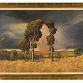 Jacob Hendrik Pierneef, Summer Rain in the Bushveld, est. £100,000-150,000