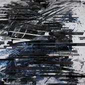 Jacqueline Humphries, Pile, 2008, oil and enamel on linen (est. £40,000-60,000)
