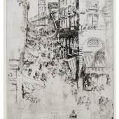 James McNeil Whistler, The Rialto, 1879 -80, est.£7,000 – 10,000