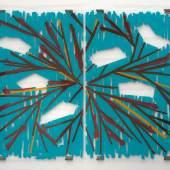 Jean–Marc Bustamante Les lacs des saintes, 2008 Ink under plexiglass 249 x 382 cm