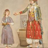 Jean-Etienne Liotard, A Woman in Turkish Costume in a Hamam Instructing a Servant_£2-3 million