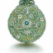 Jehan Cremsdorff - Gold Enamel and diamond-set verge watch 1650