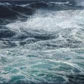 Jochen Hein, Kochende See, 2020 Acryl auf Baumwolle, 60 x 80 cm