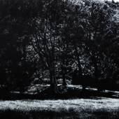 Jochen Hein, Park 2016, Acryl auf Baumwolle, 130 x 180 cm