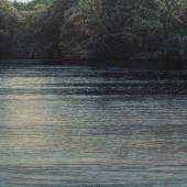 Jochen Hein, See 2019, Acryl auf Baumwolle, 100 x 140 cm