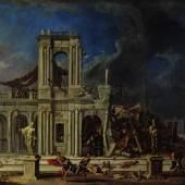 Johann Heinrich Schönfeld Simons Rache an den Philistern, 1633/1634 (?) © Kunsthistorisches Museum Wien, Gemäldegalerie, 2013 Foto: Fotoatelier, Kunsthistorisches Museum