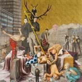 Jonas Burgert (1969)  Selbstjäger | 2005 | Öl auf Nessel | 300 x 280 cm Taxe: 100.000 – 150.000 €
