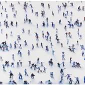 Jonathan Huxley Ball game Öl auf Leinwand, 1996 160 x 183,5 cm / 62.9 x 72.2 inches  Startpreis: € 100