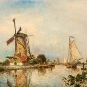 Johan Barthold Jongkind, Bei Overschie, 1869, Foto: Marten de Leeuw