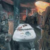 Jörg Immendorff, Café Deutschland VII, 1980 280 x 350 cm, Bayerische Staatsgemäldesammlungen, Sammlung Moderne Kunst in der Pinakothek der Moderne München © The Estate of Jörg Immendorff, Courtesy Galerie Michael Werner Märkisch Wilmersdorf, Köln & New York