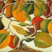 "JOSEPH, Jasmin. 1924 Haiti - 2005. ""Paradiesischer Baum"". Mindestpreis:490 EUR"