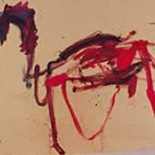 Martha Jungwirth* (geb. 1940) Das Trojanische Pferd, 2019 Öl auf Karton, auf Leinwand kaschiert; ungerahmt 120 x 200 cm