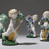 Die vier Jahreszeiten Michael Powolny: Entwurf Ausführung: Wiener Keramik Um 1907 © Wien, MAK / Georg Mayer / © VBK, Wien 2011