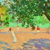 Sir John Lavery, Les orangers du Beau Site de Cannes (Tennis Under the Orange Trees), oil on canvas, 1929, est. £300,000-500,000 / €337,000-561,000