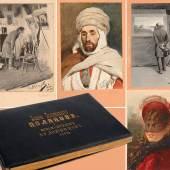 Album mit 27 originalen Arbeiten russischer Künstler