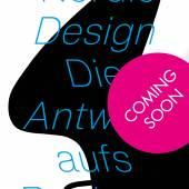 """Plakat """"NORDIC DESIGN. DIE ANTWORT AUFS BAUHAUS"""""""