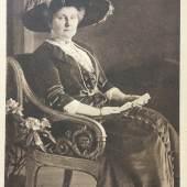 Herzogin Karoline Mathilde zu Schleswig-Holstein-Sonderburg-Glücksburg (Calma), um 1911. Foto: Sammlung Jörg Kirschstein, Potsdam
