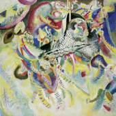Wassily Kandinsky Fuga, 1914 Öl auf Leinwand, 129,5 x 129,5 cm Fondation Beyeler, Riehen/Basel, Sammlung Beyeler Foto: Robert Bayer, Basel  Druckbare Bildgrösse ca.: 25 x 25 cm