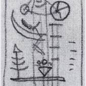 Wassily Kandinskys Skisse aus dem Werkverzeichnis