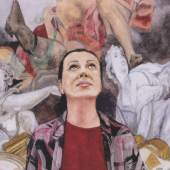 Karin Kneffel (1957) Ohne Titel | 2007 Aquarell auf Bütten, auf Untergrund montiert 24 x 32 cm Taxe: 4.000 – 5.000 Euro