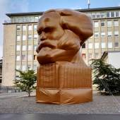 Karl Marx light foto Hannes Langeder
