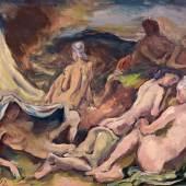 Karl Hofer  Lagernde Amazonen | 1912  Öl auf Leinwand | 68 x 90cm  Ergebnis: 75.000 Euro