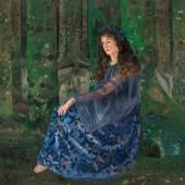 Karl Mediz (1868 – 1945) Die Waldfee, 1894 Öl auf Leinwand 164 x 169,5 cm Schätzpreis: 180.000 – 280.000 €