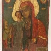 Kat.-Nr. 806 = Ikone, Griechenland, 17. Jh.