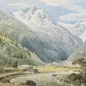 LODER, Matthäus 1781 – 1828 Böckstein bei Wildbad Gastein 1828   Auktion 22. April 2013 Aquarell, Deckfarbe auf Papier 27,5 x 37,3 cm € 20.000 – 40.000