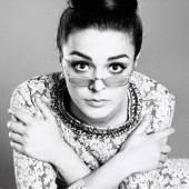 Katarina Sarnitz (Noever) in silbernem Kleid von Étoile, 1964/65 Foto: Roland Pleterski/WestLicht/AnzenbergerAgency