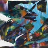 Katharina Grosse (1961)  Ohne Titel | 2015 | Acryl auf Leinwand | 394 x 418 cm Taxe: 300.000 – 500.000 €