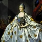 Porträt der Zarin Katharina II.