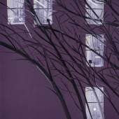 Alex Katz - Purple Wind.