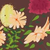 Alex Katz (1927) Late Summer Flowers | 2013 Farbserigrafie auf Karton | 101x140cm Erg: €38.400