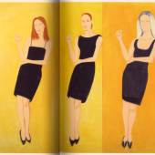 Alex Katz - Nine Black Dresses