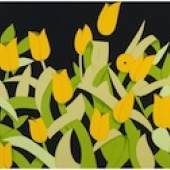 Alex Katz - Yellow Tulips