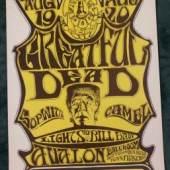Kelley, Alton und Stanley Mouse (1940-2008 bzw. geb. 1940, Künstler der Psychedelic Art)- Family Dog Konzertplakat, San Francisco 1966, Aufrufpreis:150 EUR
