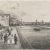 Keplerbrücke, um 1836 © Steiermärkisches Landesarchiv