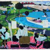 Kerry James Marshall, Past Times (est. $8,000,000 - 12,000,000USD), LOT SOLD. $21,114,500 USD