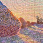 Matt Kane, Meules after Claude Monet.