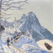 KIA Reiser Winterlandschaft