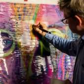 Kilian Saueressig in seinem Atelier