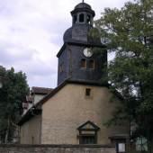 Kirche von Oberilm (Stadtilm) in Thüringen.