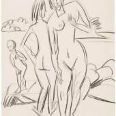 Ernst Ludwig Kirchner Fehmarnlandschaft mit Baumen, 1914 Wienerroither & Kohlbacher