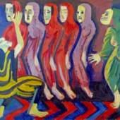 Ernst Ludwig Kirchner, Totentanz der Mary Wigman, 1926/28, Courtesy Galerie Henze & Ketterer, Wichtrach / Bern