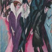 Ernst Ludwig Kirchner, Die Strasse, Berlin, 1913 The Museum of Modern Art, New York, © 2016, Digital image, The Museum of Modern Art, New York / Scala, Florence