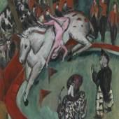 Ernst Ludwig Kirchner Zirkus, 1913 Öl auf Leinwand, 120 × 100 cm Bayerische Staatsgemäldesammlungen, München, Pinakothek der Moderne Foto: bpk/Bayerische Staatsgemäldesammlungen/Sybille Forster