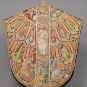Kasel des Meßornats des Ordens vom Goldenen Vlies (Rückseite) Um 1430/40 L. 149,5 cm, B. 135,5 cm © KHM-Museumsverban