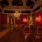 Die Eggenberger Beletage erlaubt bei Kerzenlicht eine besondere Zeitreise ins Barock Universalmuseum Joanneum/ Foto: Peter Gradischnigg